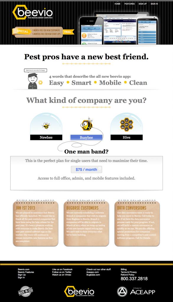 pest control software beevio